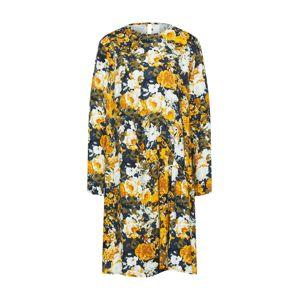 MOSS COPENHAGEN Letní šaty 'Monica'  žlutá / zelená / mix barev / bílá