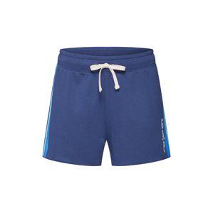 GAP Kalhoty 'V-GAP STRIPE SHORTS'  modrá