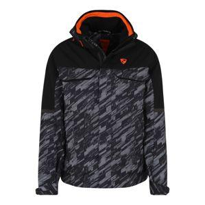 ZIENER Sportovní bunda 'TOGIAK '  tmavě šedá / černá