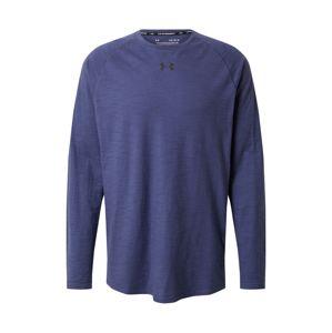 UNDER ARMOUR Funkční tričko 'Charged Cotton'  námořnická modř