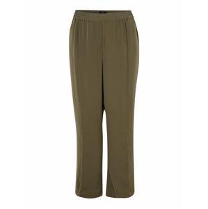 Vero Moda Curve Kalhoty 'VMKARINA'  olivová