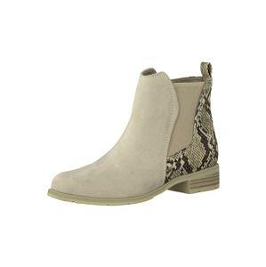 MARCO TOZZI Chelsea boty  béžová