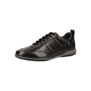 GEOX Sportovní šněrovací boty 'U TIMOTHY'  černá