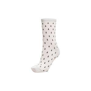 SELECTED Ponožky  bílá / černá