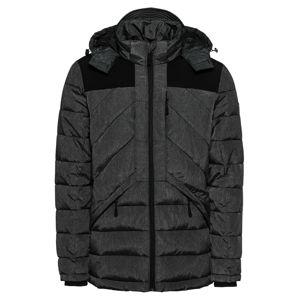 BLEND Zimní bunda 'Outerwear'  tmavě šedá