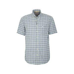 CAMEL ACTIVE Košile  zelená / bílá / modrá