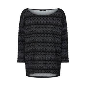ONLY Tričko 'Vigga'  šedá / černá