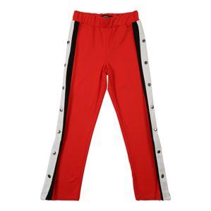 NAME IT Kalhoty 'BEA'  červená / černá / bílá