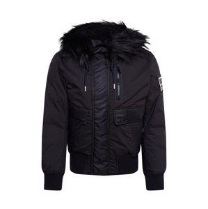 DIESEL Zimní bunda 'W-BURKISK JACKET'  černá