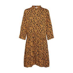 Mbym Letní šaty 'Albana'  hnědá / černá