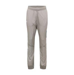 KAPPA Kalhoty 'Filmon'  světle šedá / bílá
