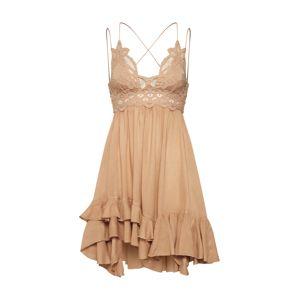 Free People Letní šaty 'Adella'  světle hnědá