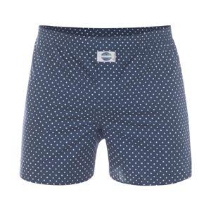 D.E.A.L International Boxerky 'Dots'  marine modrá
