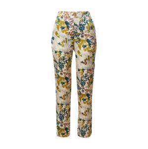 ETAM Pyžamové kalhoty 'GANNY'  béžová / zelená / černá / tmavě žlutá