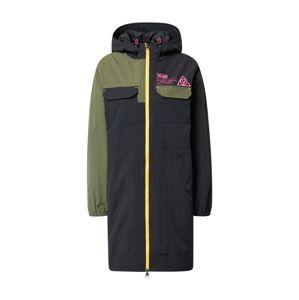 VANS Přechodný kabát  černá / khaki