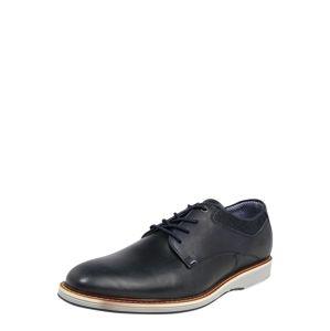 BULLBOXER Sportovní šněrovací boty  černá