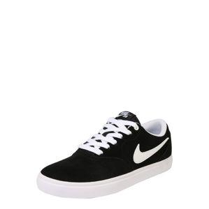 Nike SB Sportovní boty 'Check Solar'  černá / bílá