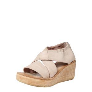 A.S.98 Páskové sandály 'Sandale NOA'  béžová