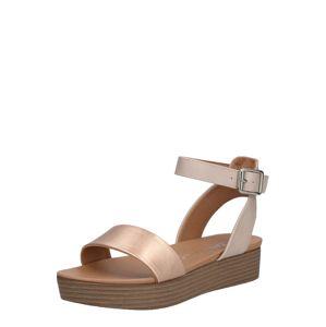 NEW LOOK Sandály 'Genius'  zlatá