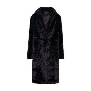 Boohoo Přechodný kabát  černá