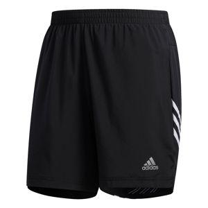 ADIDAS PERFORMANCE Sportovní kalhoty 'Run It'  bílá / černá