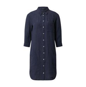 Marc O'Polo Košilové šaty  noční modrá