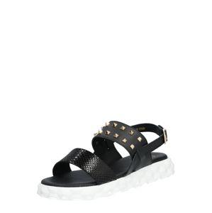 Ca Shott Páskové sandály  černá