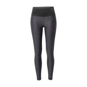 Casall Sportovní kalhoty  černá / černý melír