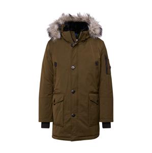 BRAX Přechodný kabát 'Style Evereset'  tmavě zelená / béžová