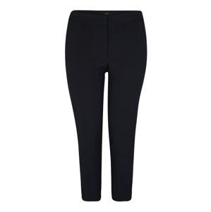 Vero Moda Curve Kalhoty 'MAYA NW ANKLE PANT WVN BOO CURVE'  noční modrá