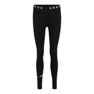 UNDER ARMOUR Sportovní kalhoty  černá