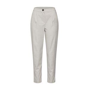 NEW LOOK Kalhoty se sklady v pase  šedá