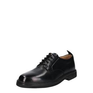 Hudson London Šněrovací boty 'Sennen leather'  černá