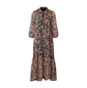 VERO MODA Košilové šaty 'VMNUKA 3/4 ANKLE DRESS WVN'  zelená / mix barev