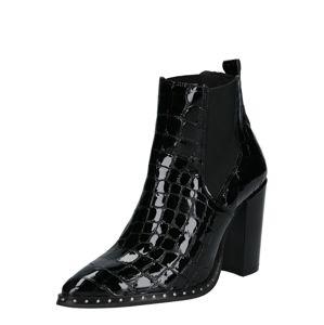 PS Poelman Chelsea boty  černá