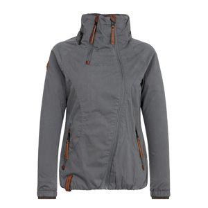 naketano Přechodná bunda  tmavě šedá