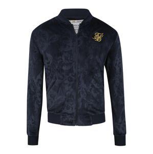 SikSilk Přechodná bunda  námořnická modř