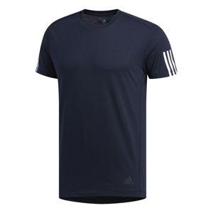 ADIDAS PERFORMANCE Funkční tričko 'Run It'  tmavě modrá / bílá