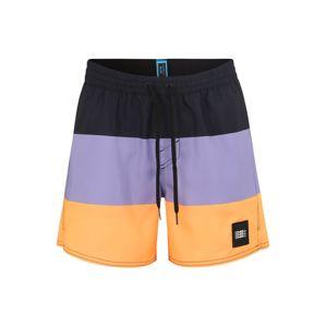 O'NEILL Sportovní plavky 'VERT-HORIZON'  fialová / oranžová / černá