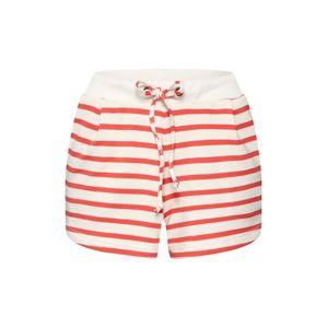 Sublevel Kalhoty  červená / bílá