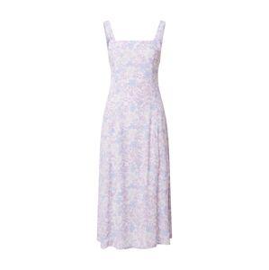Cotton On Letní šaty 'MADDY'  fialová / bílá / světlemodrá