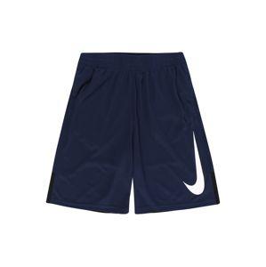 NIKE Sportovní kalhoty  námořnická modř