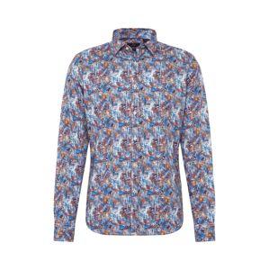 CINQUE Košile 'CISPUKY'  světlemodrá / námořnická modř / ohnivá červená