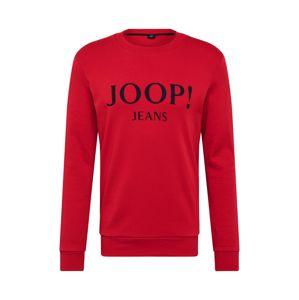 JOOP! Jeans Mikina 'Alfred'  červená / noční modrá