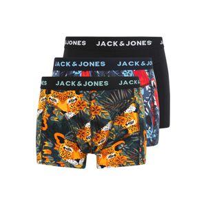 JACK & JONES Boxerky 'Jacanimals'  mix barev / černá