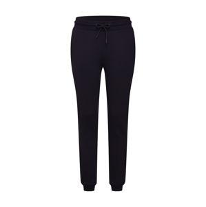 Urban Classics Kalhoty 'Ladies Tech Mesh Side Stripe Sweatpants'  černá