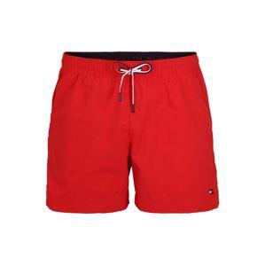 Tommy Hilfiger Underwear Plavecké šortky  červená