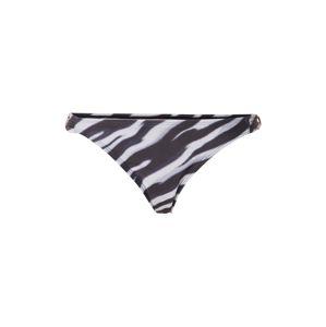 Hunkemöller Spodní díl plavek 'Zebra Cheeky'  černá