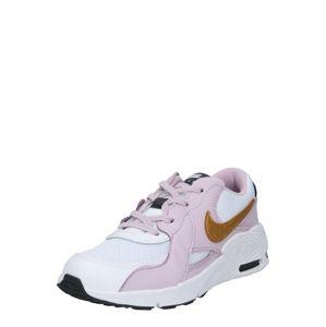 Nike Sportswear Tenisky 'Air Max Excee'  zlatá / šeříková / bílá