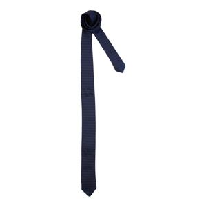 HUGO Kravata  modrá / černá